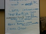 Work groups that formed for future action