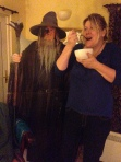 Leesa and Gandalf